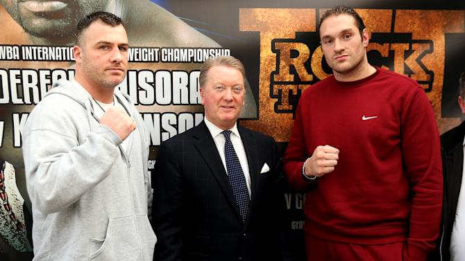 Tyson Fury Press Conference