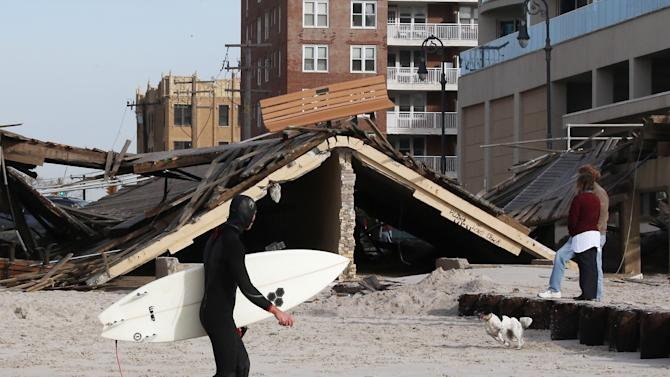 New York And New Jersey Continue To Deal With Aftermath Of Hurricane Sandy