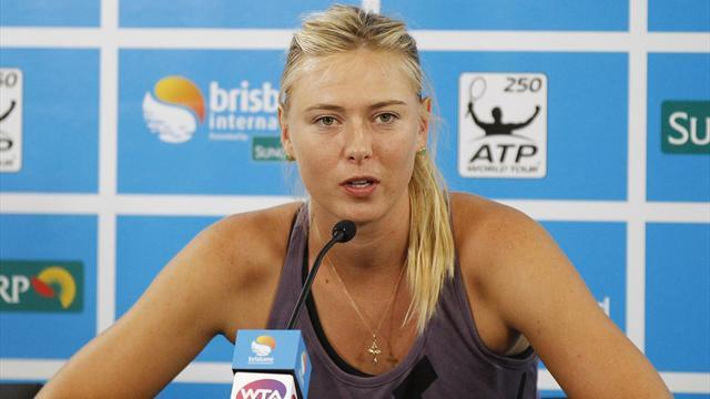 Tennis - Injured Sharapova out of Brisbane as seeds keep struggling