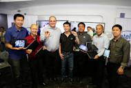 In photo (L-R): Intel Philippines Business Development Manager Christopher Syling, Intel Philippines Market Development Manager Wowie Wong, Intel Philippines Country Manager Calum Chisholm, Intel Philippines Channel Platforms Manager Jason Ty, Intel Philippines Business Development Manager Carlo Subido, Intel Philippines Marketing Manager Randy Kanapi, and Intel Philippines Business Development Manager Lawrence Pedrajas.