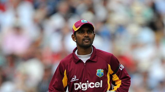 Cricket - Ramdin banned for two matches after claiming dropped catch