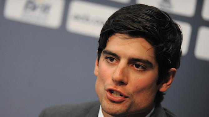 Alastair Cook has been named the new England Test captain