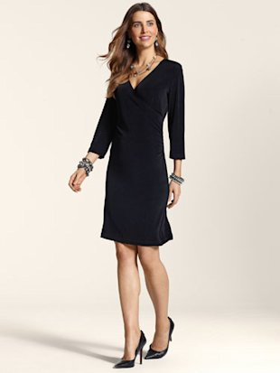 Travelers Classic Rosemary Wrap Dress