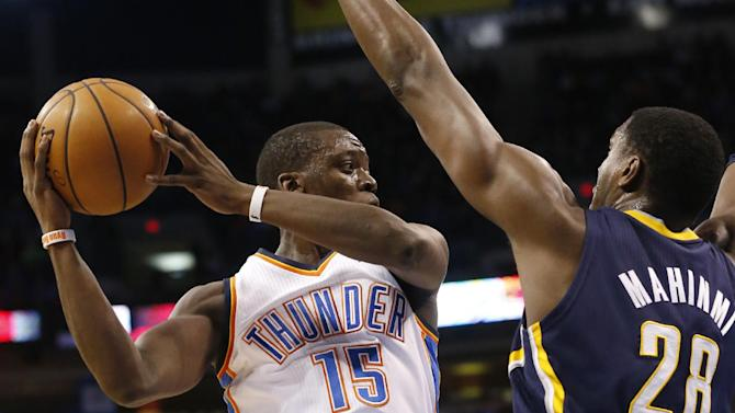 Durant's 36 points lift Thunder past Pacers 118-94