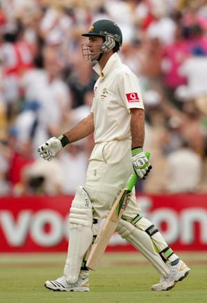 Ricky Ponting failed to impress in his last Test innings