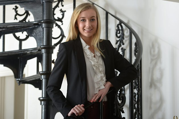 Lauren Marbe, 16, from Loughton, Essex, has an IQ of 161