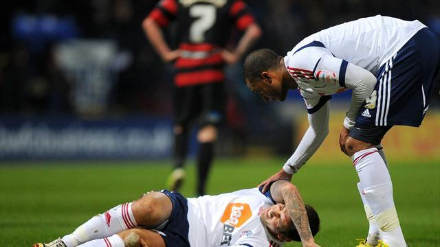 Football - Davies blow for Bolton