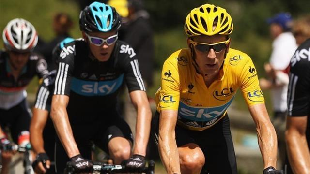 Tour de France - Froome and Wiggins dispute leader status