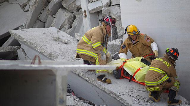 3rd Man Dies in Fla. Garage Collapse