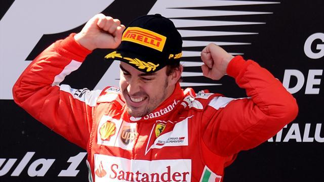 Formula 1 - Alonso wins in front of home crowd at Spanish GP
