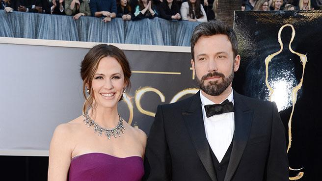 85th Annual Academy Awards - Arrivals: Jennifer Garner and Ben Affleck
