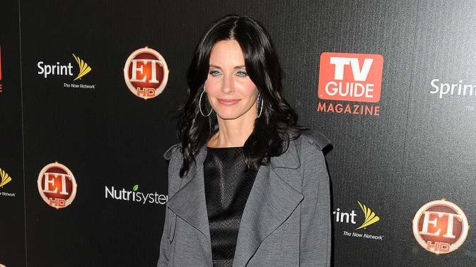Cox Courteney TV Guide Hot Prty