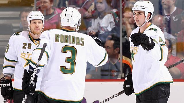 NHL - Stars shoot down Ducks in spiteful clash