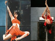 Jolin Tsai injured during pole dancing