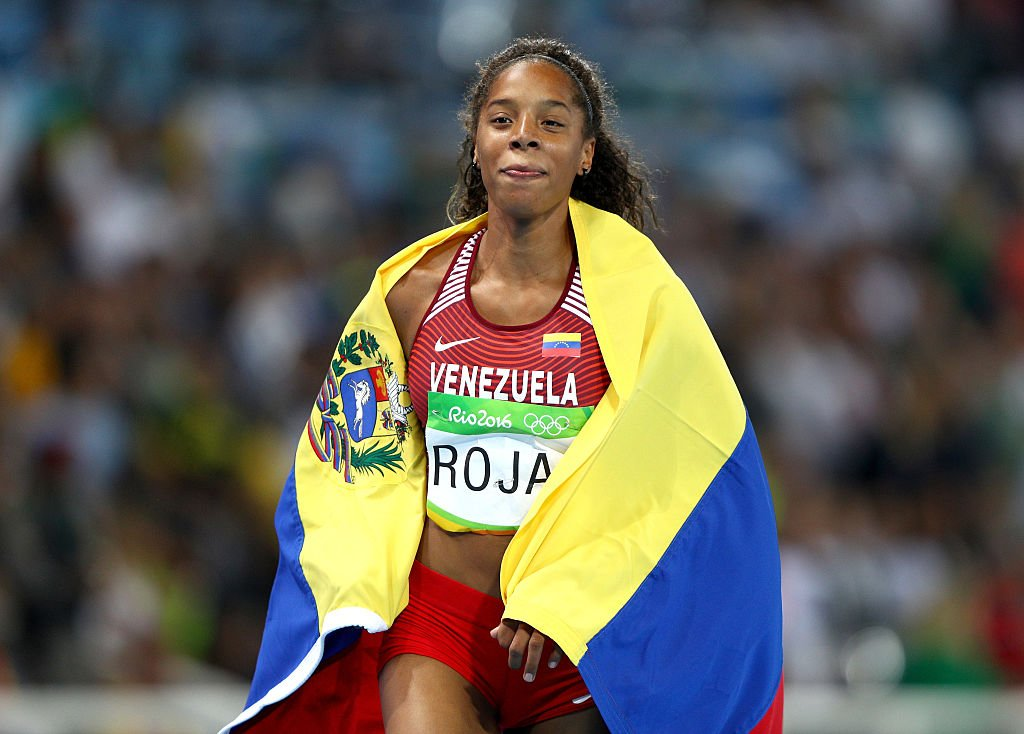 Venezuela triple jumper Yulimar Rojas earned a silver and a free house at the Rio de Janeiro Olympics. (Shaun Botterill/Getty Images)