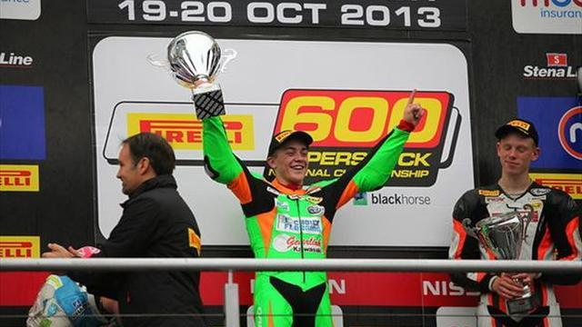 Superbikes - BSB Brands: Hedger secures Superstock 600 crown