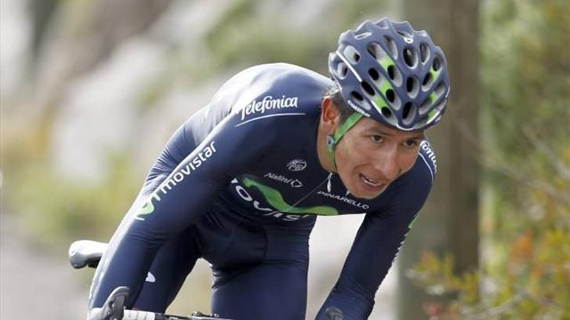 Cycling - Quintana fends off favourites in Vuelta al Pais Vasco