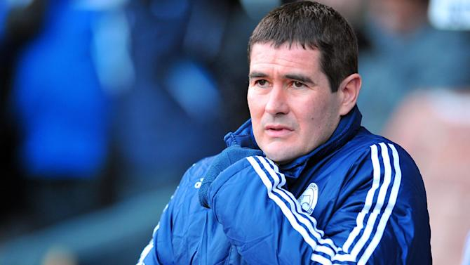 Derby County's manager Nigel Clough wants his side to continue building momentum between now and the end of the season