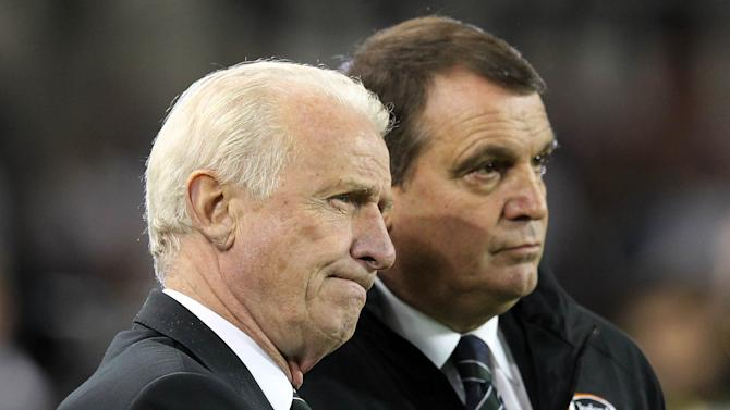 Marco Tardelli, right, believes the Republic of Ireland have made real progress in 2012 under Giovanni Trapattoni, left