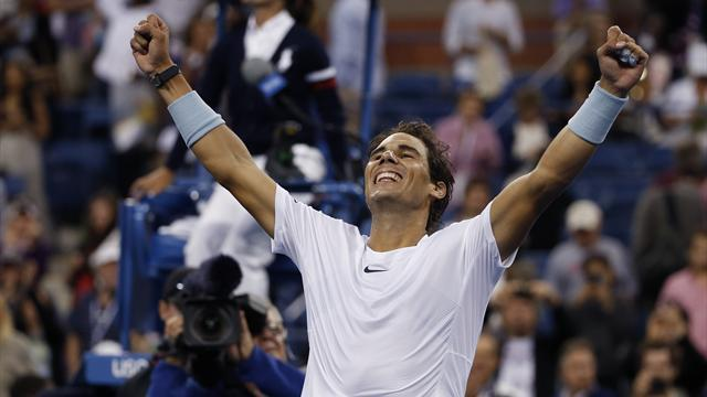 US Open - Nadal brushes past Gasquet in New York semi-final