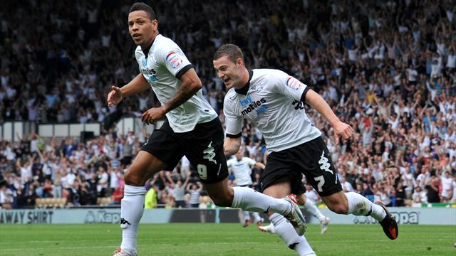 Championship - Tyson knocks out Birmingham as Derby win
