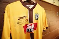 Britain Football Soccer - Sutton United Media Day - FA Cup Fifth Round Preview - The Borough Sports Ground - 16/2/17 General view of the Sutton United home shirt during the media day Action Images via Reuters / Matthew Childs Livepic