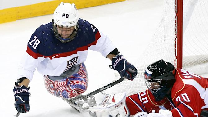 US beats Russia in Sochi Paralympics hockey final