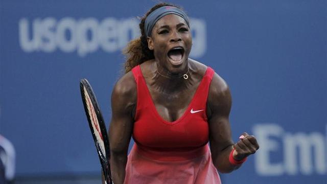 Tennis - Serena lucky in love on the tennis court