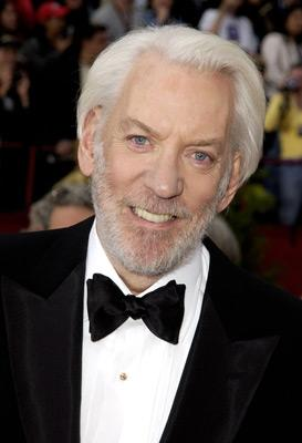 Donald Sutherland 74th Academy Awards Hollywood, CA 3/24/2002