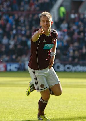 Danny Grainger's second-half effort gave Hearts victory