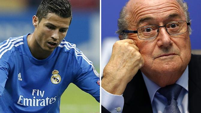 Liga - Ancelotti: Blatter has lost plot with Ronaldo slur