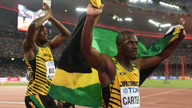 Nesta Carter has appealed the decision that saw he and the Jamaican sprint relay team stripped of their gold medals from Beijing 2008.