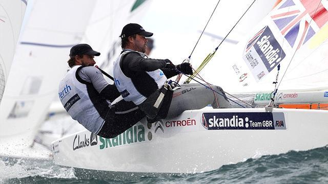 Sailing - Morrison and Rhodes lead the way in Palma