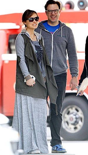 Olivia Wilde and Jason Sudeikis after their wild-weather weekend. Andrade/Perkins/PacificCoastNews.com