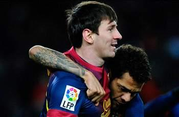 'Neymar would help out Messi' - Alves