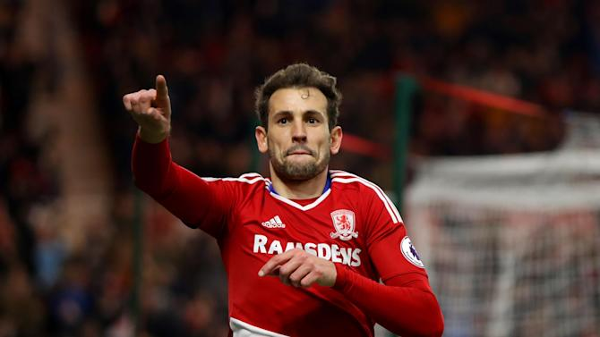 Middlesbrough's Cristhian Stuani hits late winner to break Oxford United hearts in the FA Cup fifth round