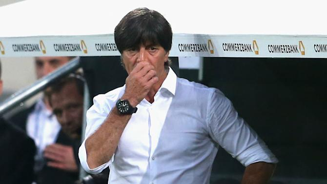 Low concerned by Germany's defensive performance