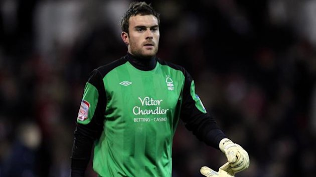2010-11 Championship Nottingham Forest goalkeeper Lee Camp