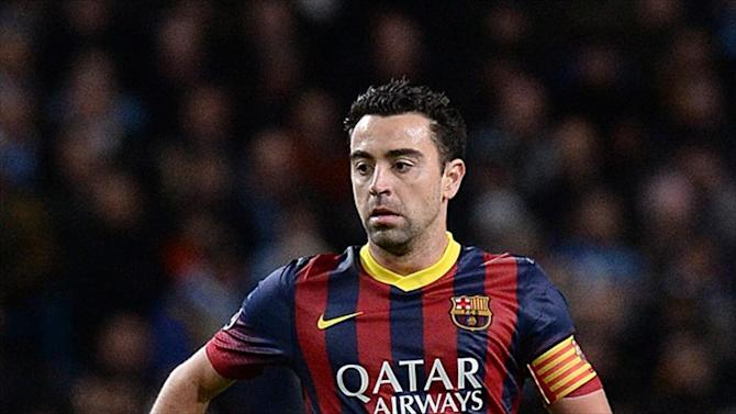 Liga - Barcelona to wear special shirts in tribute to Xavi against Deportivo
