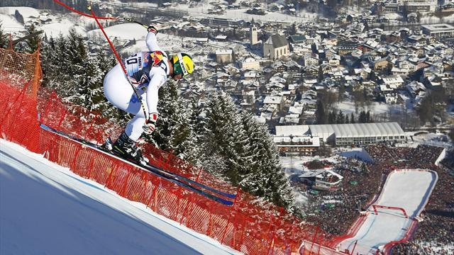Alpine Skiing - Paris soars to Kitzbuehel downhill glory