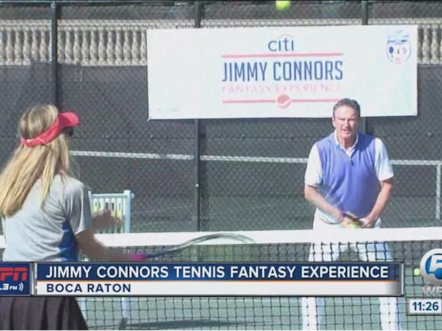 Jimmy Connors Tennis Fantasy Experience