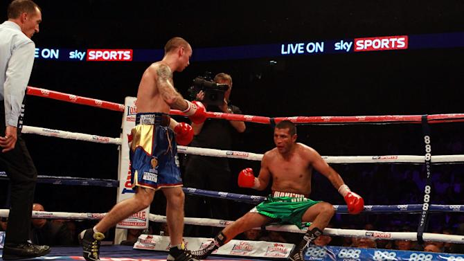Boxing - Vacant IBF Inter-Continental Lightweight Championship - Kevin Mitchell v Marco Lopez - O2 Arena