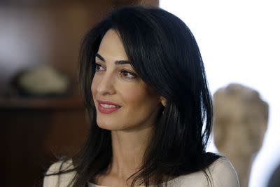 Amal Clooney married down. She's way more fascinating than George.