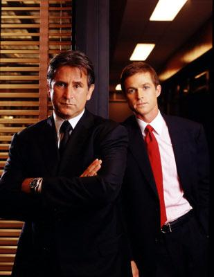Anthony LaPaglia and Eric Close CBS's Without a Trace