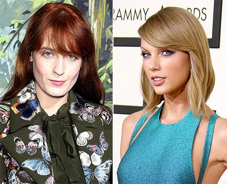 "Florence Welch Had ""Kind of a Breakdown,"" Got Advice From Taylor Swift"