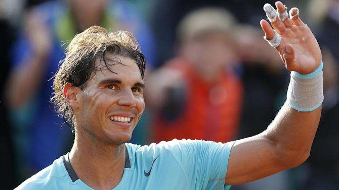 French Open - Nadal eases past Mayer at Roland Garros