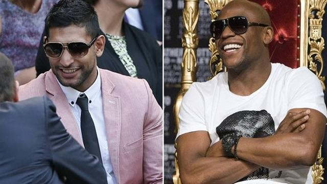Boxing - Khan left limbo after 'comical' flirtation with Mayweather