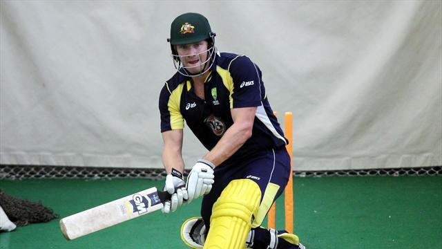Cricket - Australia welcome back Watson for final Test in India