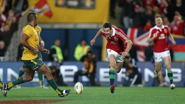 Rugby - Sexton happy to uphold tradition