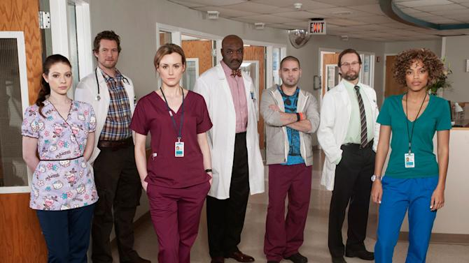 The cast of the NBC series Mercy.